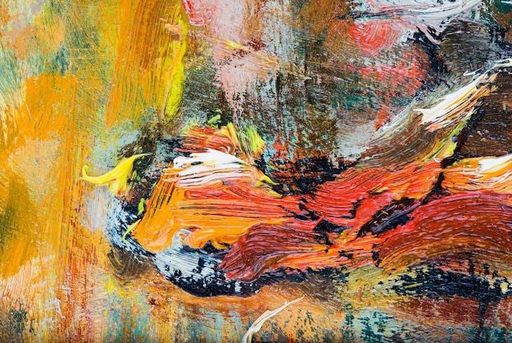 0_new Acrylic Painting