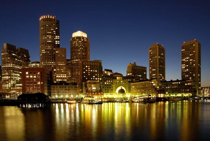 0_new Boston Skyline Night