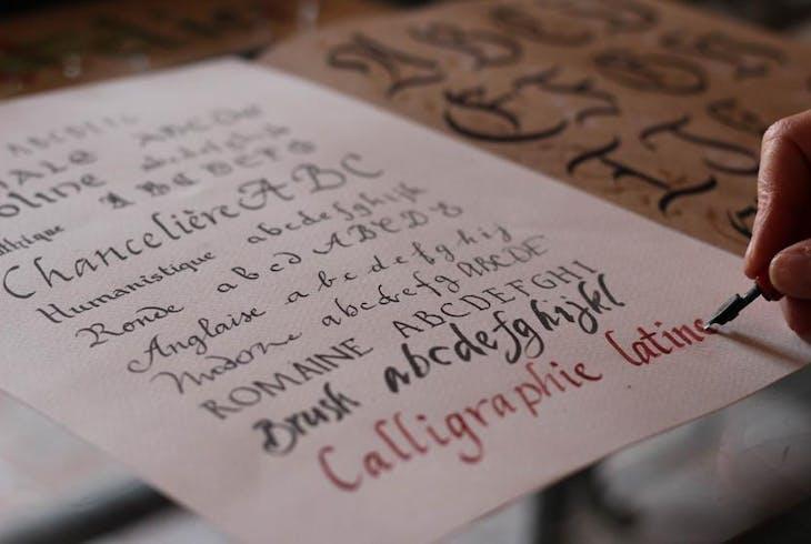 0_new Calligraphy