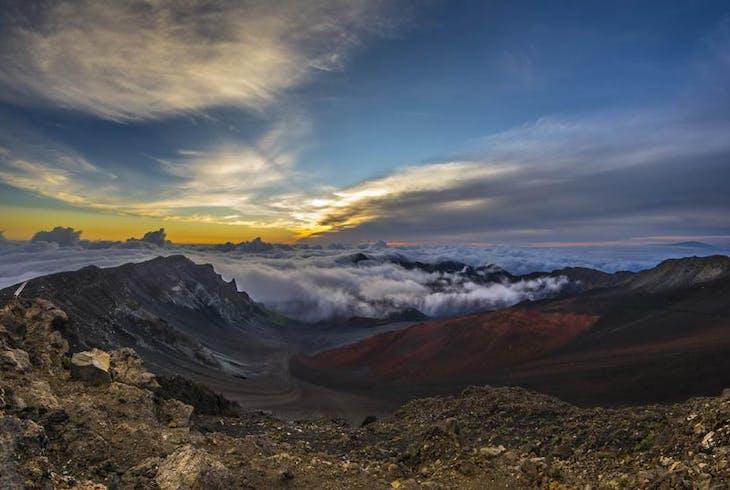 0_new Haleakala Crater Sunset