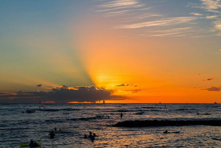 0_new Honolulu Sunset
