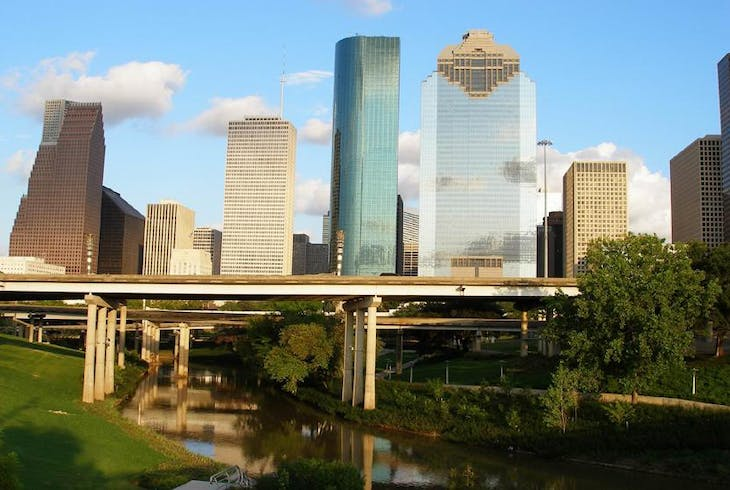 0_new Houston Skyline Daytime