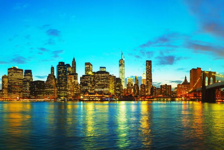 0_new Nyc Skyline Sunset