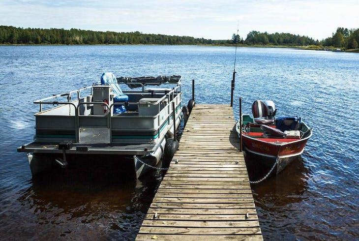 0_new Pontoon Boat