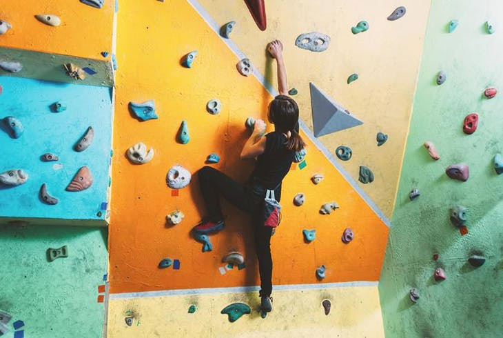 0_new Rock Climbing Indoor