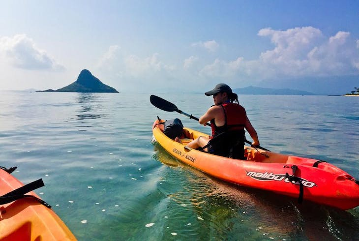 Active Oahu Tours Chinamans Hat Kayaking Tour
