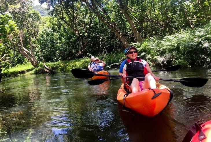 Active Oahu Tours Rainforest River Kayaking Tour