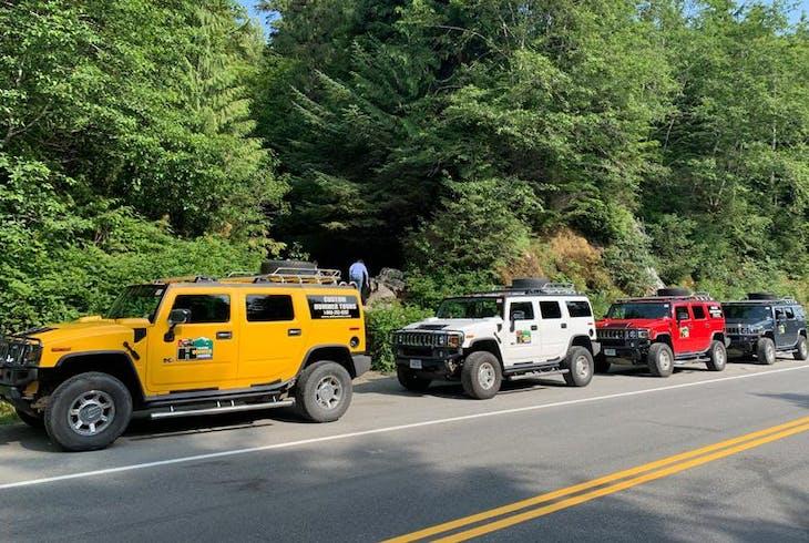 Alaska Amphibious Tours Island Hummer Tour