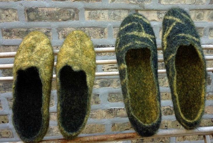 Ausrines Arts Room Slippers