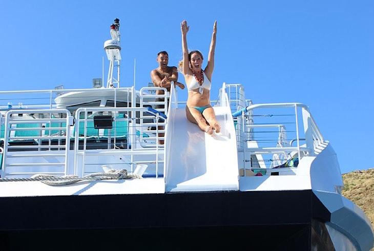 Boss Frogs Snorkel Tour Aboard Calypso