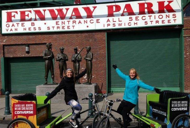 Boston Pedicab Pahks Ahts Smahts