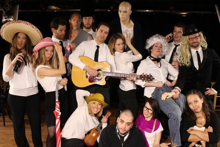 Catalyst Comedy Boston Unscripted Musical Project
