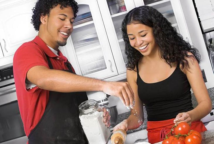 Chef Erics CulinaryClassroom Couples Romantic Cooking