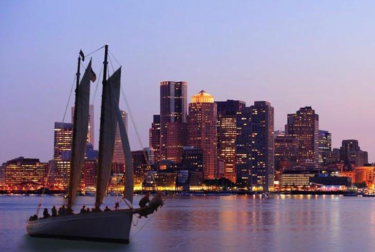 Classic Harbor Line Sunset Sail