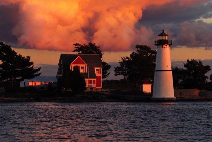 Clayton Island Tours Sunset Cruise