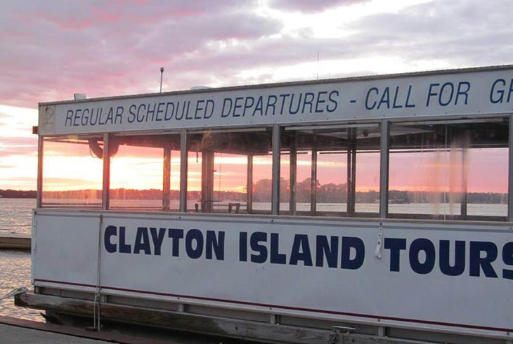 Clayton Island Tours Sunset Cruise
