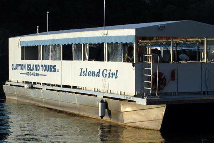 Clayton Island Tours All