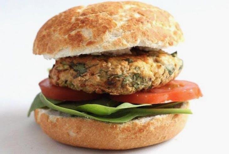 CocuSocial Healthy Vegan Burger