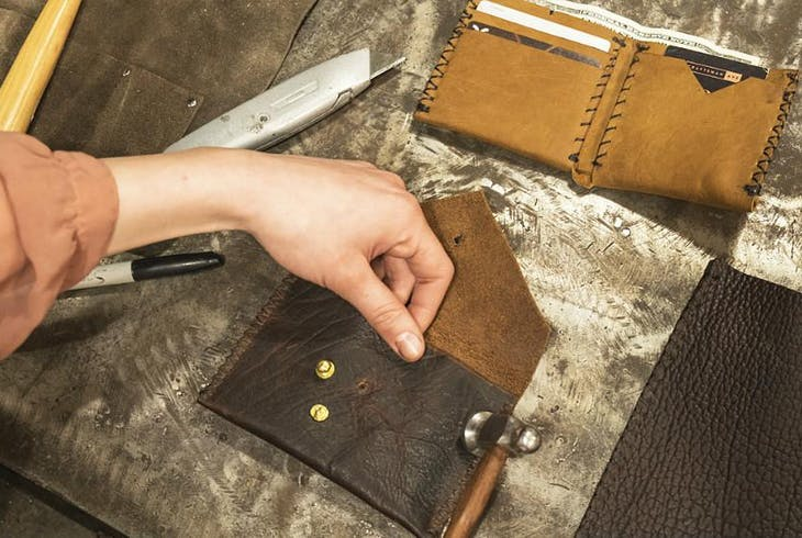 Craftsman Ave Leather Case