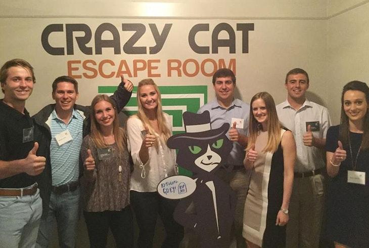 Crazy Cat Escape Room