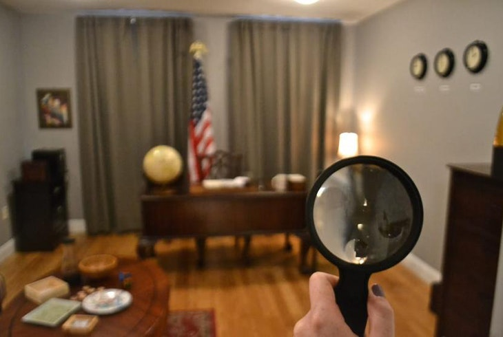 Escape Artist DC Political Room