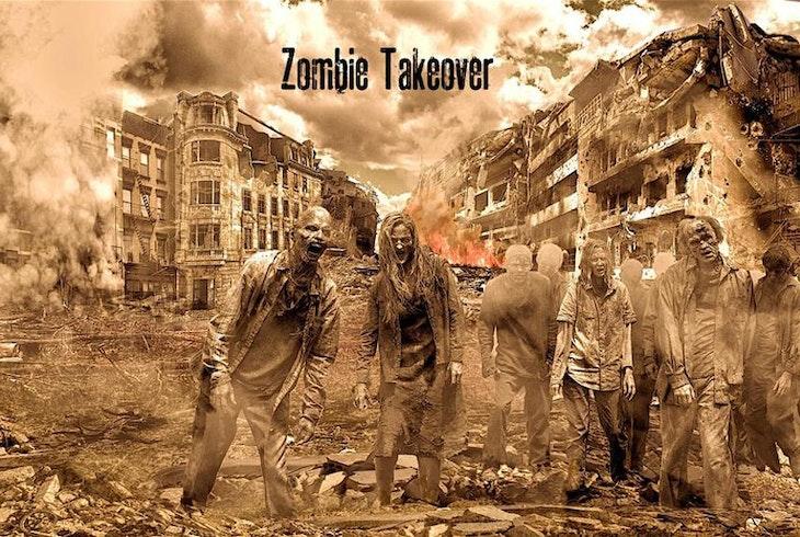 Escape Or Die Zombie