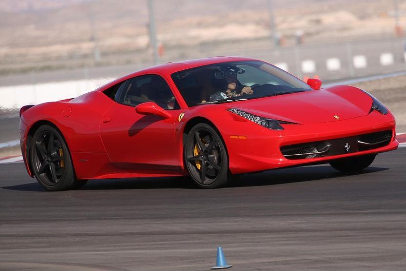 5 Lap Ferrari 458 Italia Experience Exotics Racing