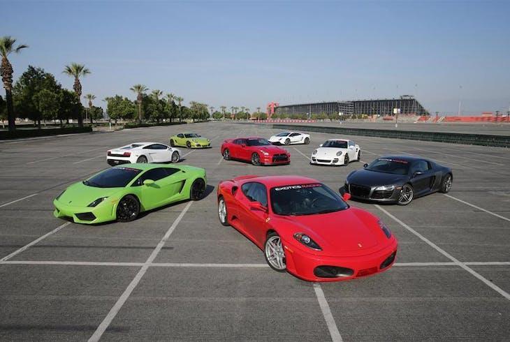 Exotics Racing Los Angeles Porche Cayman S