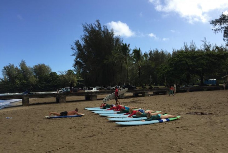 Hawaiian Surfing Adventures