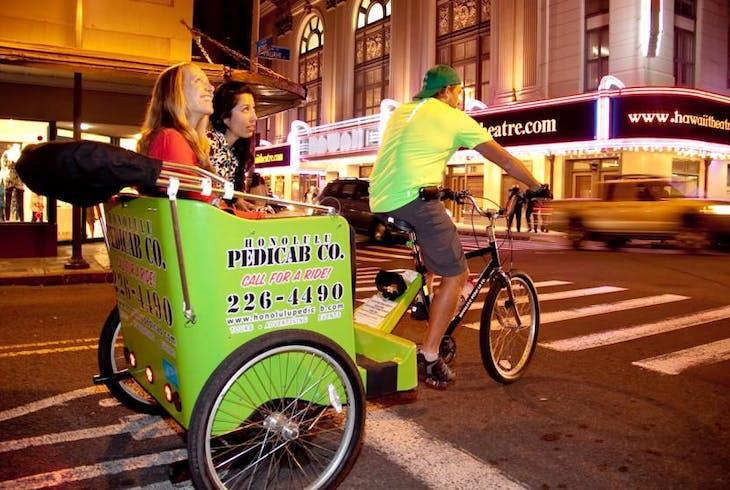 Honolulu Pedicab Historical Chinatown