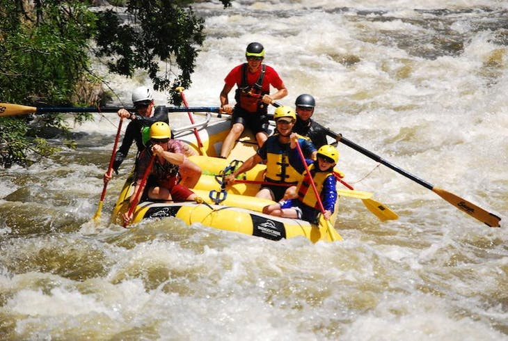 Indigo Creek Outfitters Full Day Rafting