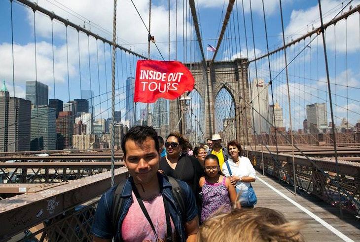 Inside Out Tours Brooklyn Bridge