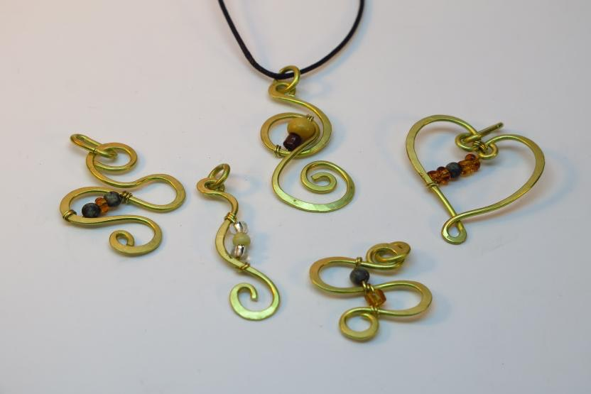 Wire Beading | Wire Working And Beading Jewelry Creations Workshop Silver