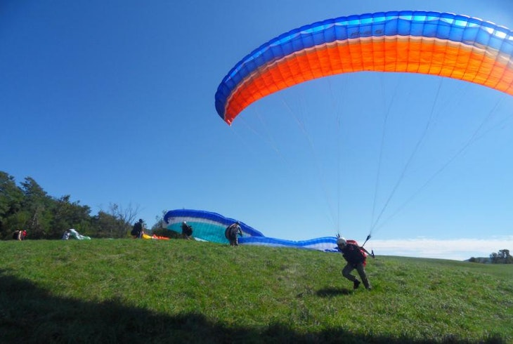 Lets Go Paragliding Intro Day