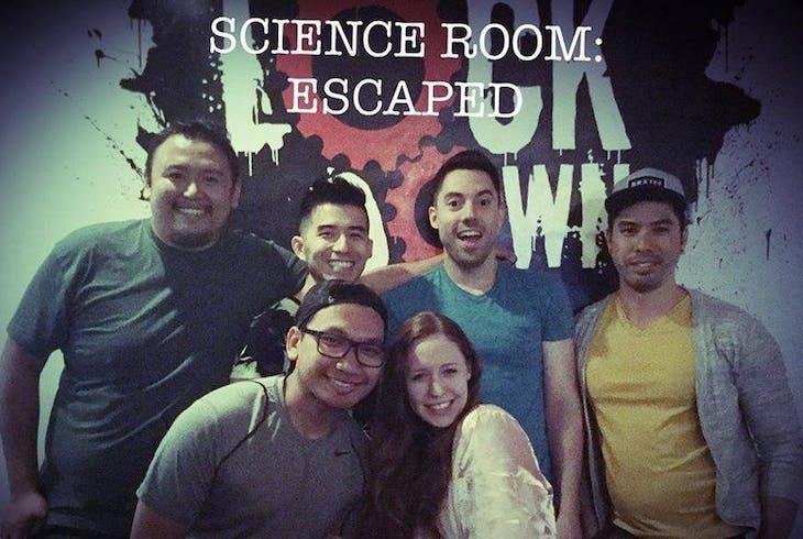Lockdown Rooms SanDiego Science