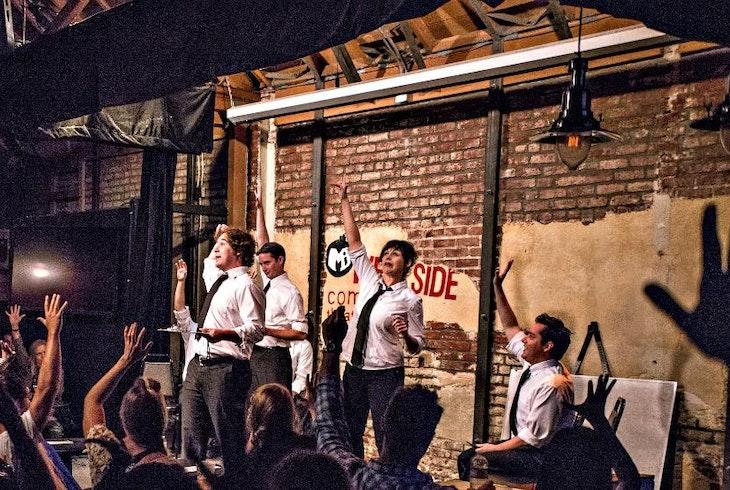 MI Westside Comedy Theater Mission IMPROVable