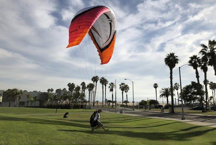 Malibu Paragliding Paragliding Lesson