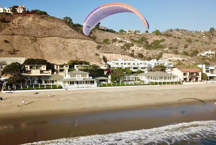 Malibu Paragliding Paramotor Lesson