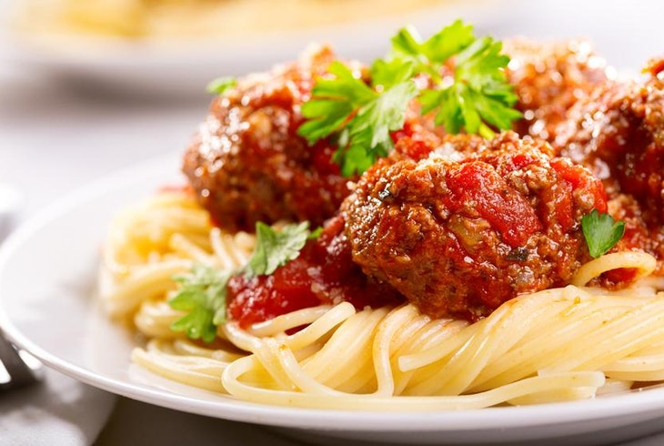 Meatballs And Sauce