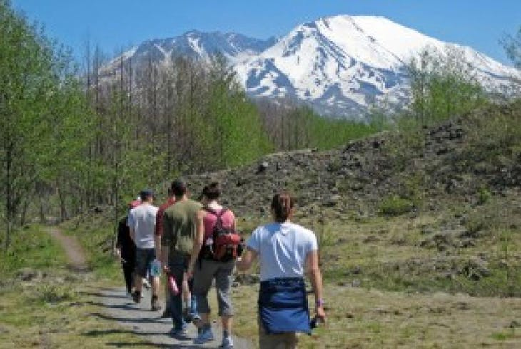 Mt St Helens Monument Tour