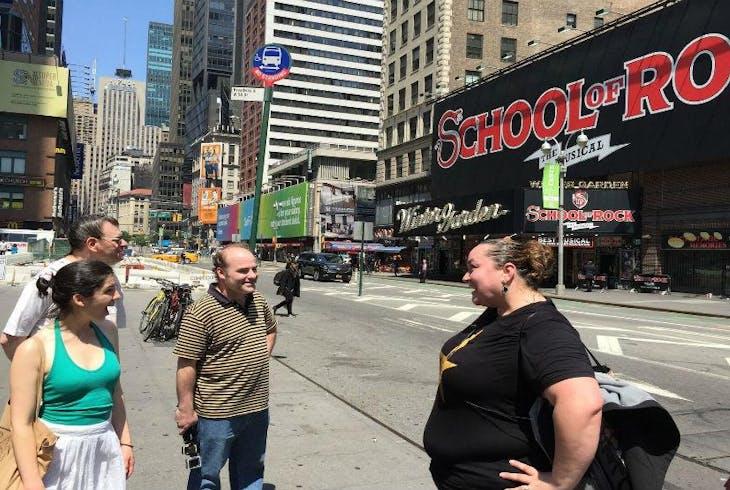 New York Broadway Tours Grand Walking Tour