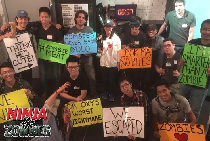 Ninja Escape Ninjas Vs Zombie
