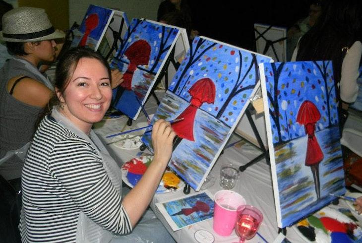 Paint And Sip Studio LA