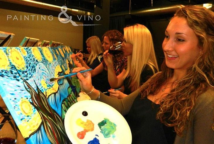 Painting And Vino
