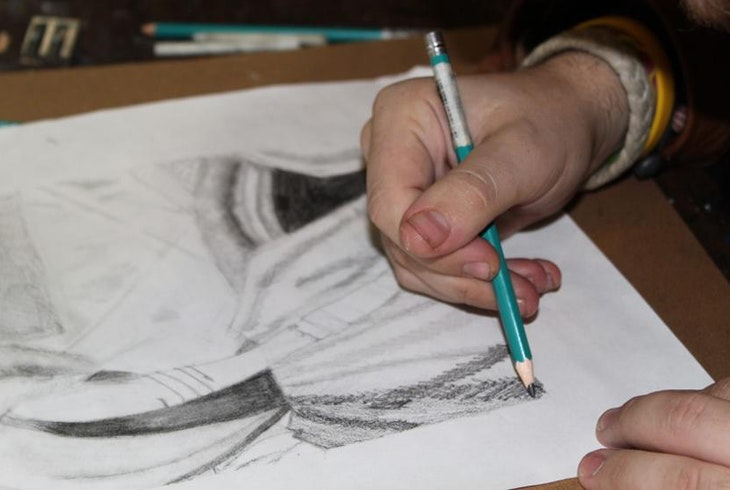 Pastimes For A Lifetime Drawing With Graphite