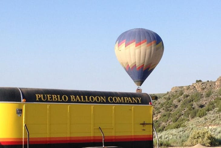 Pueblo Balloon Company Hot Air Balloon