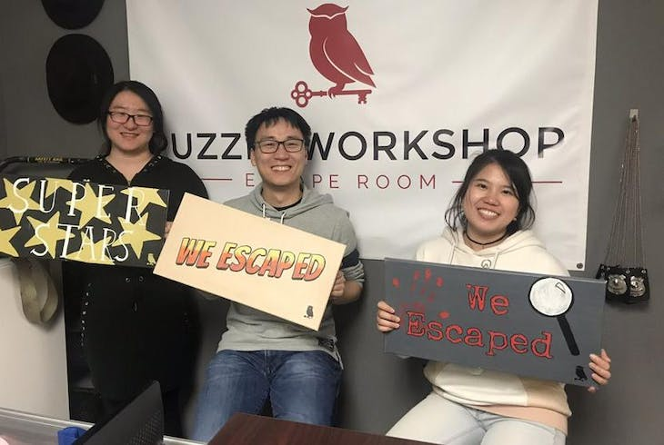 Puzzle Workshop Escape Room Mission To The Stars
