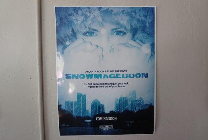 Room Escape Atlanta Snowmageddon