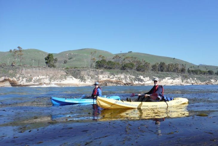 Santa Barbara Adventure Cave Kayak
