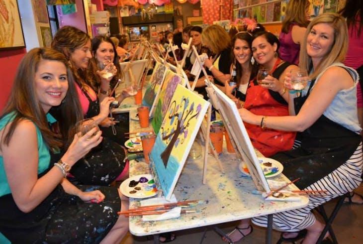 Saratoga And Burlington Paint And Sip Studio